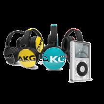 AKG Y50 fejhallgató + FiiO X1