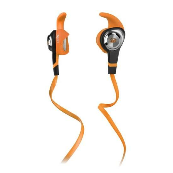 Monster iSport Strive fülhallgató narancs