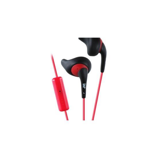 JVC HA-ENR15B Gumy Sport mikrofonos fülhallgató fekete