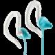 Yurbuds Focus 100 for women sport fülhallgató, fehér